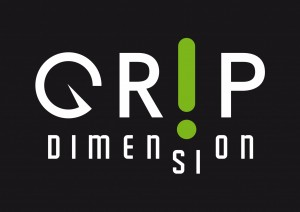 LOGO GRIP DIMENSION SU NERO