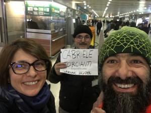 selfie nostro a istanbul